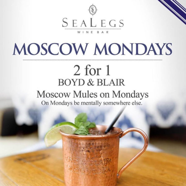 SeaLegs Moscow Mondays