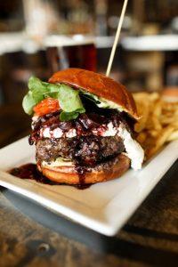 SeaLegs Napa Cabernet Burger | ShesCookin.com