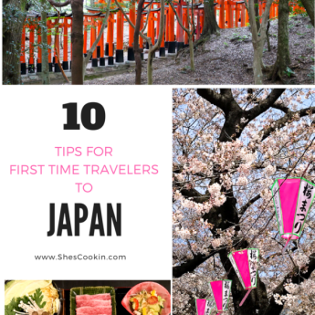10 TIPS for first time travelers to Japan | ShesCookin.com