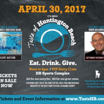 Buy Your Tickets Now! Taste of Huntington Beach – April 30, 2017 Benefits the HB Children's Library