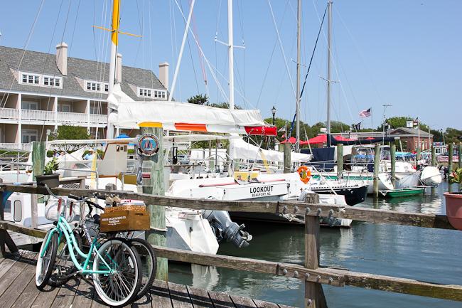 Beaufort, North Carolina marina | ShesCookin.co