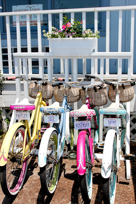 Hungry Town Bicycle Tours, Beaufort, North Carolina | ShesCookin.com