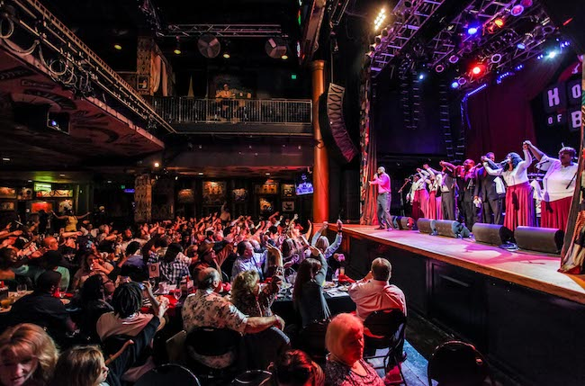 House of Blues Gospel Brunch, House of Blues Anaheim