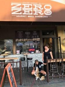 Zero Zero Gourmet Grill sandwiches, Huntington Beach