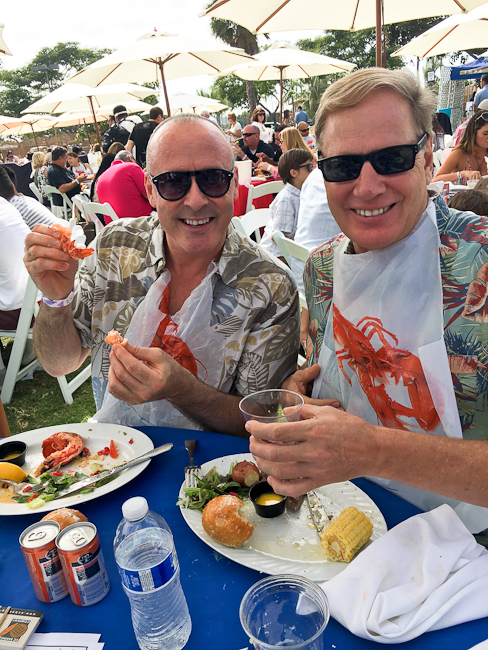 Lobsterfest Newport Beach | ShesCookin.com