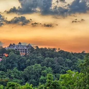 Crescent Hotel, Eureka Springs, Arkansas | Photo by Harrison Sutcliffe