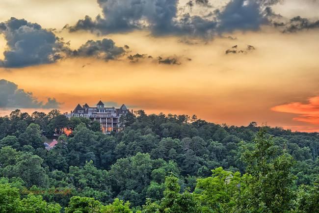 Crescent Hotel, Eureka Springs, Arkansas | Photo by Harrison Sutcliffe