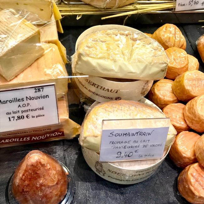 Soumaintrain french cheese