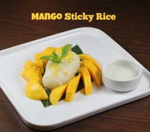 Mango Sticky Rice | ShesCookin.com