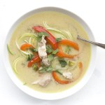 Thai Chicken Zoodle Soup | The Everyday Ketogenic Cookbook