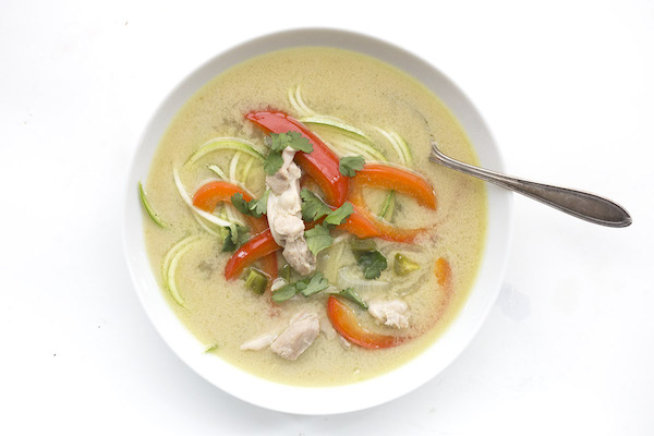 Thai Chicken Zoodle Soup   The Everyday Ketogenic Cookbook