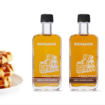 Gift Guide - Runamok Barrel Aged Vermont Maple Syrup