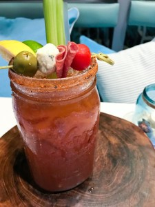 Bloody Mary, Lighthouse Bayview Cafe