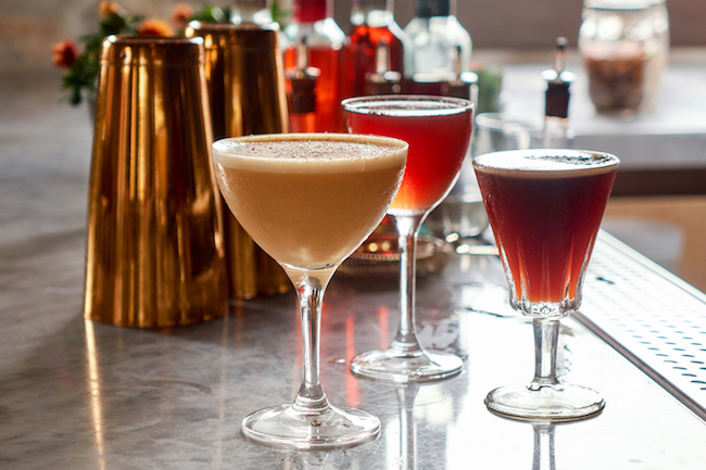 Holiday inspired cocktails,Farmhouse at  Rogers Gardens