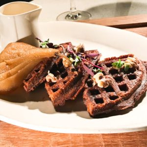 Old Fashioned Gingerbread Waffles