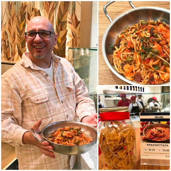 Cafe Barilla, Chef Alfonso Sanna