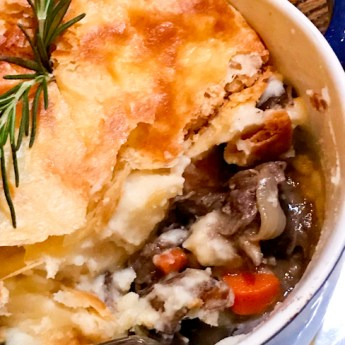 Short Rib Pot Pie, SeaLegs | ShesCookin.com