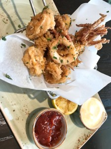 Fried Calamari, AVEO Table +Bar