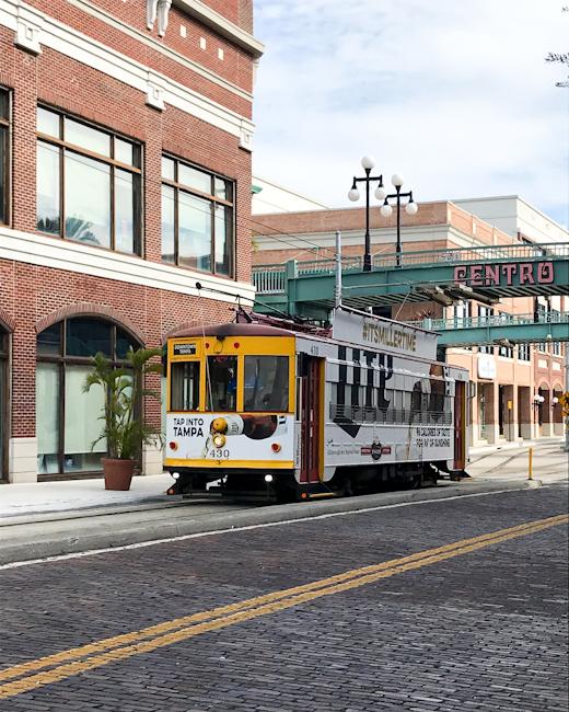 Tampa Bay street car
