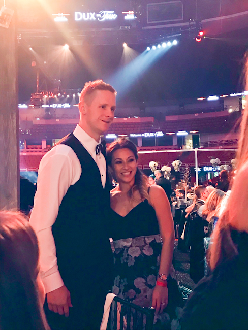 Anaheim Ducks Corey Perry, Dux In Tux