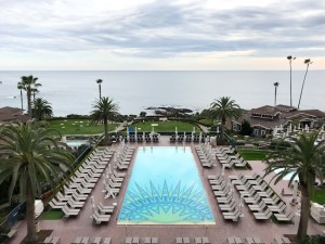 Pool and ocean view at Montage Laguna Beach