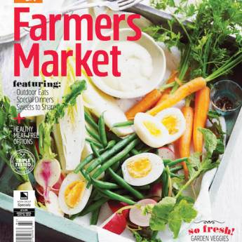 Cover of Farmers Market special edition magazine