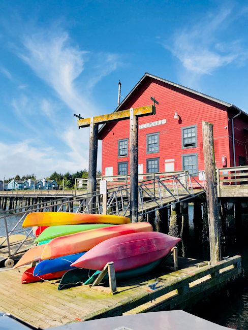 Coupeville, Washington wharf