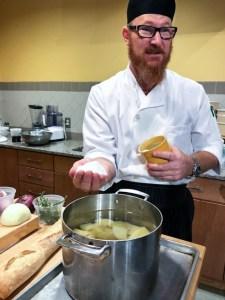 Mashed potato tips