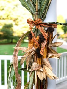 Fall harvest decor at The Essex