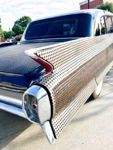 """Making Change"" by Monica Mahoney, 1962 Fleetwood Cadillac limousine"