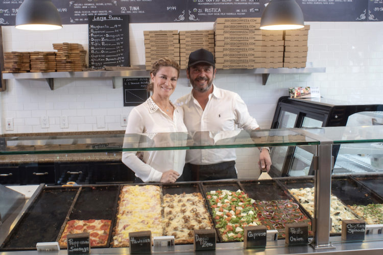 Francesco and Carlotta Zaza of Zero Zero Pizzeria, Huntington Beach, California