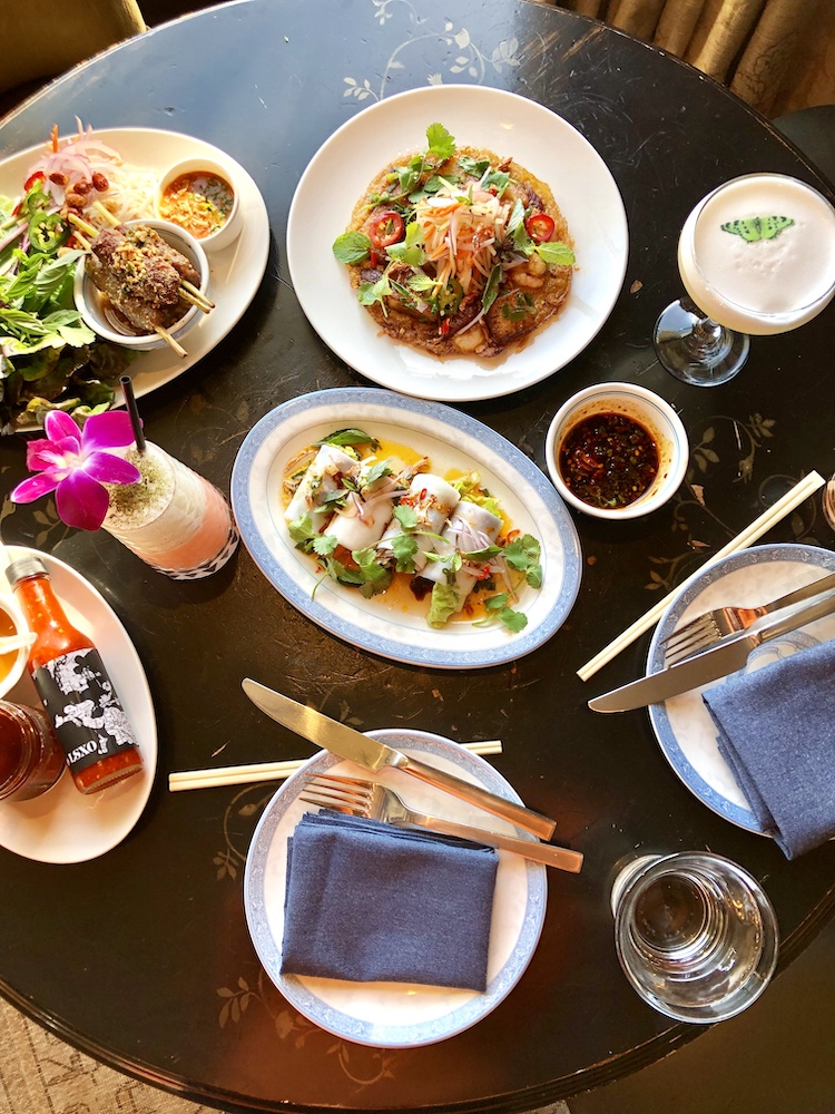 Vietnamese food at LSXO, Los Angeles and Huntington Beach, California