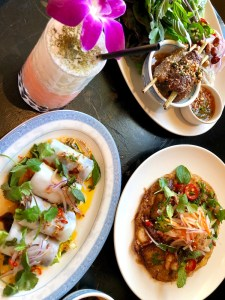 Vietnamese food at LSXO, Los Angeles and Huntington Beach, California