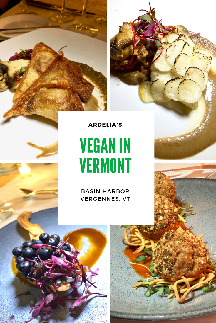 It\'s tough being a vegan, even in Vermont. But we found the best gourmet vegan chef at Basin Harbor Resort in Vergennes. #vegan #vegetarian #travel #Vermont #familytravel