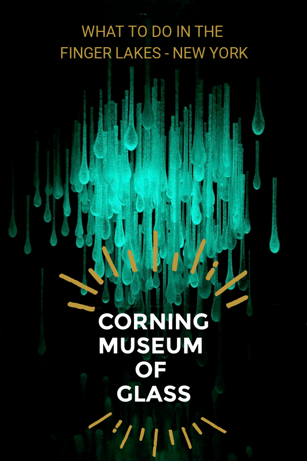 The #1 attraction in the Finger Lakes region of NY state is the Corning Museum of Glass in Corning, NY.  \