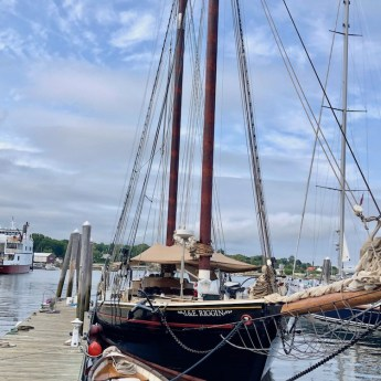 Maine food tour on the schooner J & E Riggin