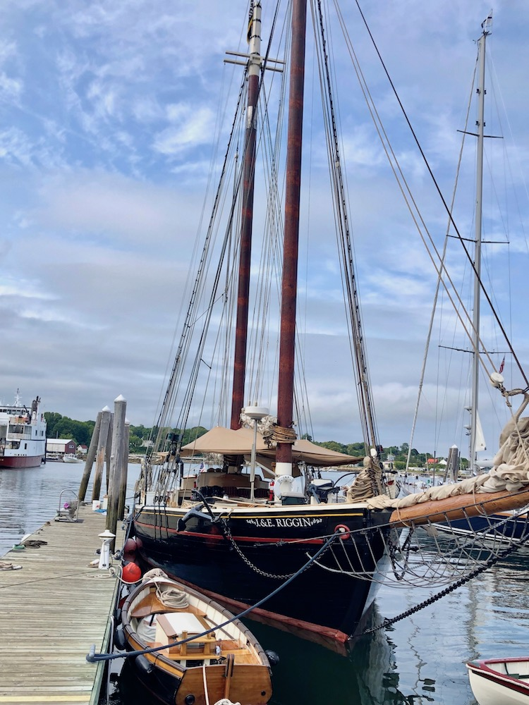 Maine food tour on the schooner J & E Riggin