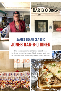 Delta cuisine, Jones BBQ, James Beard winner