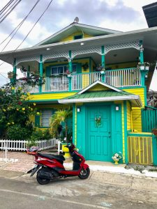 Colorful house in Bocas del Toro