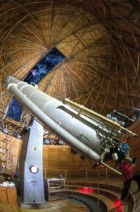 Clark telescope at Lowell Observatory