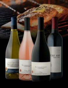 """Willamette Valley Vineyards """"Porch Pairing"""" wines"""