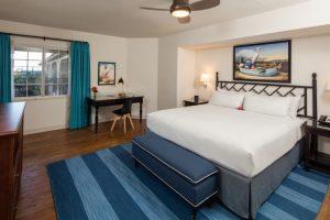 Hotel Milo guest room, Santa Barbara