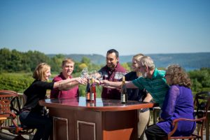 Premier guided tasting experience at Dr. Konstantin Frank winery