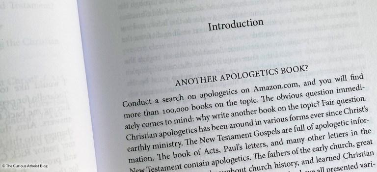 Reading My Professor's Apologetics Book: Part 1