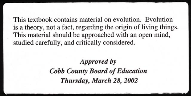 This textbook contains material on evolution. Evolution is a theory, not a fact, regarding the origin of living things. This material should be approached with an open mind, studied carefully, and critically considered.