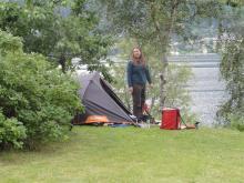 No Camping!