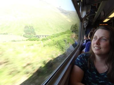 Scenic train ride from Glasgow to Malaig