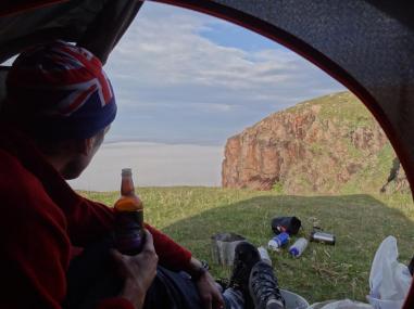 Clifftop view, Cape Wrath