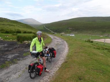 Rough road from Cape Wrath