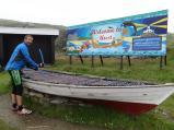 The plinky boat!, Unst, Shetland